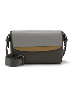 HENRIETTA Flap bag, mixed brown