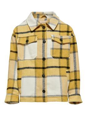 Over-Shirt im Karo-Look