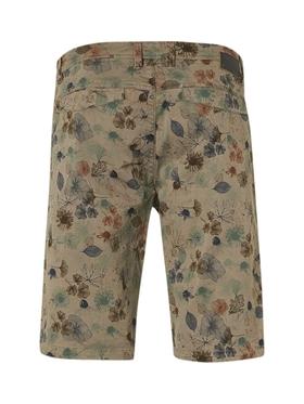 Short Garment Dyed Twill Stretch