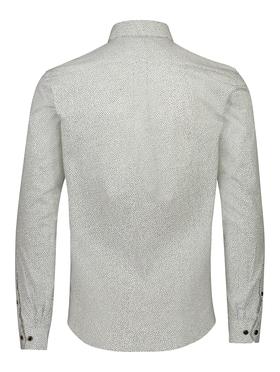 Ditsy print shirt L/S
