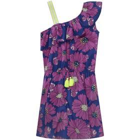 Kleid Blue Flower