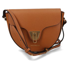 Handbag Bottalatino Leather Caramel