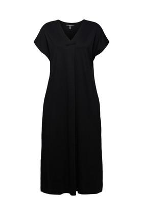TENCEL™-Mix: Kleid aus Interlock-Jersey