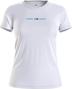 T-Shirt mit aufgesticktem Logo