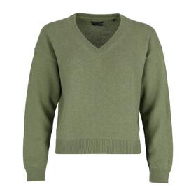 Pullover, longsleeve, v-neck, cropp