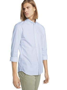 allover printed stretch shirt
