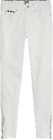 Nora weisse Skinny Fit Jeans