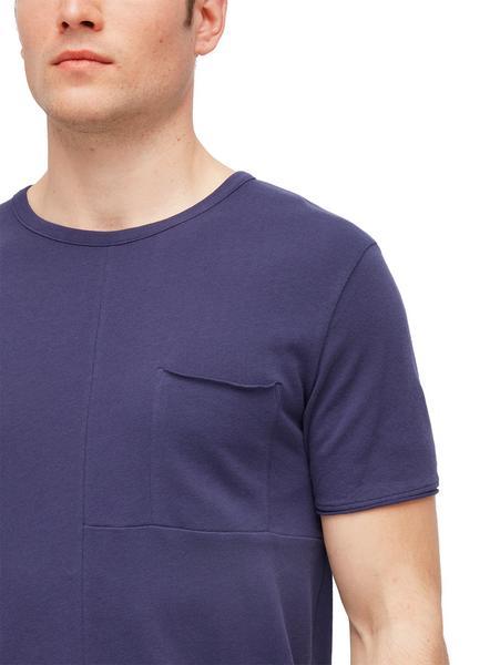 T-Shirt mit Ziernähten