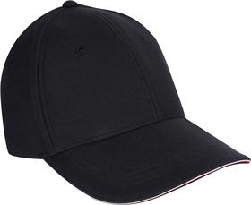 Baseball-Cap aus Stretch-Piqué