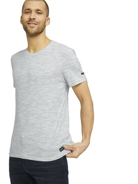 spacedyed striped t-shirt