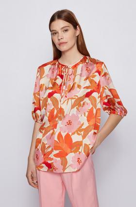 "Bluse mit Blumen-Print ""Daesala"""