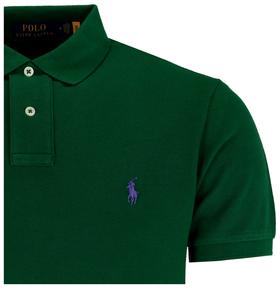 Slim-Fit Polohemd aus Piqué