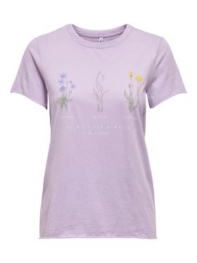 T-Shirt ONLLUCY LIFE WILDFLOWER
