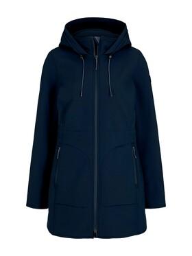 casual softshell coat