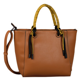 Malena Shopper, Zip shopper M cognac