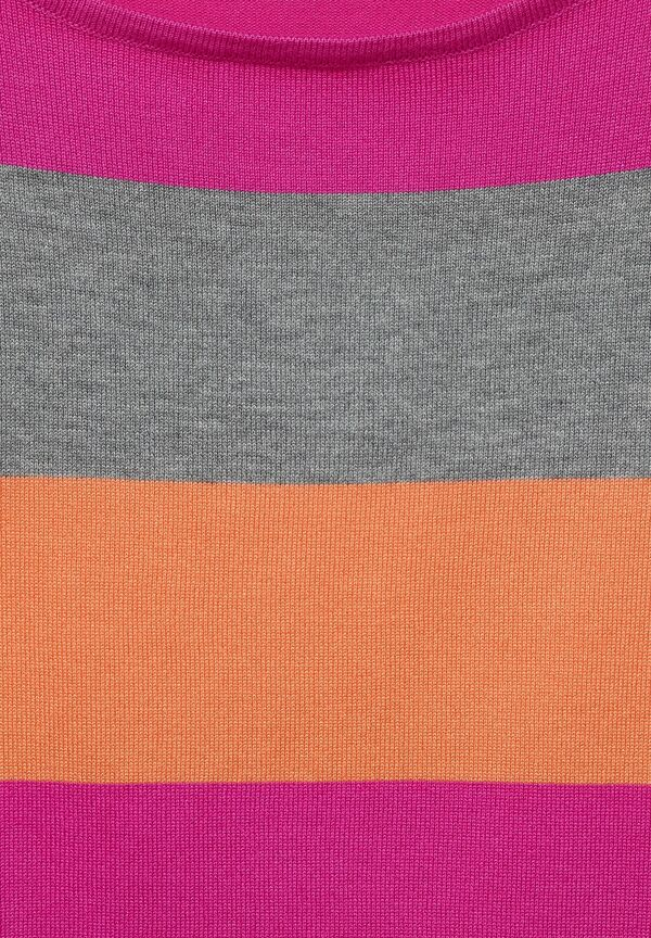 Strick-Pulli mit Streifen