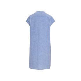 Leinen Blusenkleid Midi
