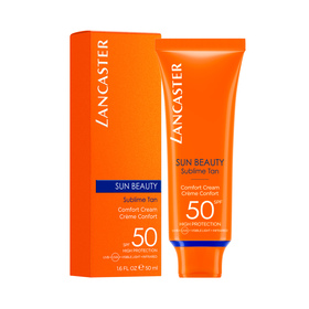 """Lancaster Sun Beauty"" Comfort Touch Cream SPF 50 50 ml"