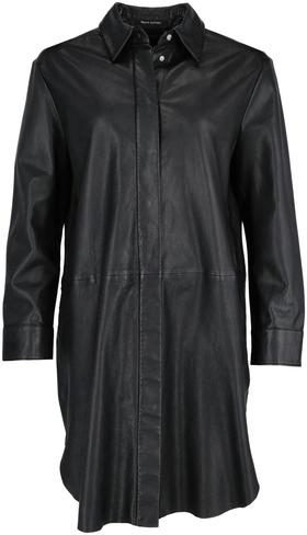 Leather Shirt, overshirt, hidden bu