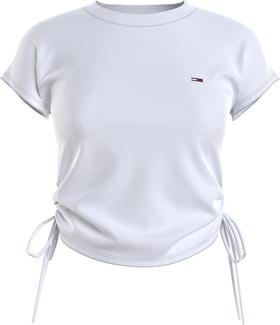 T-Shirt mit seitlichen Schleifen