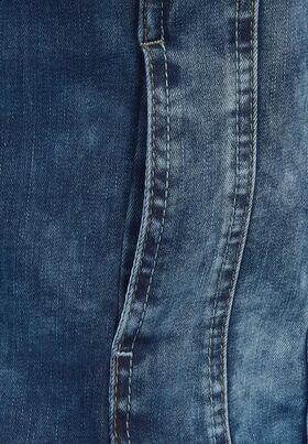 Mittelblaue Denim Jacke