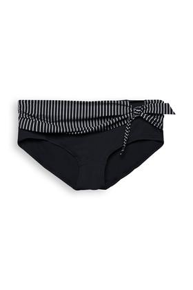 Recycelt: Hipster Shorts mit Streifen
