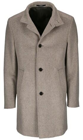 """Mantel mit kleinem Stehkragen """"Maron"""""""