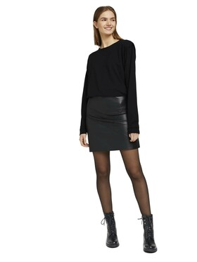 mini fake leather skirt
