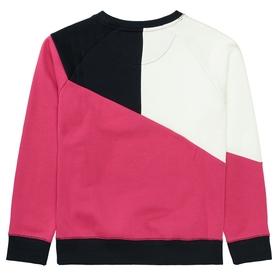 Sweatshirt mit Colour-Blocking