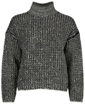Pullover, longsleeve, turtle neck,