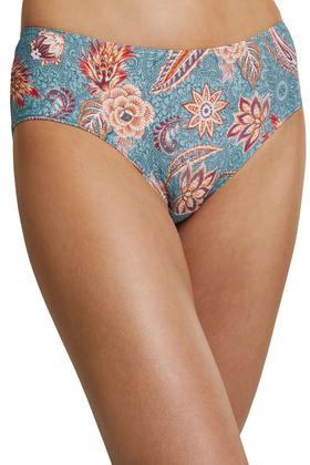Recycelt: Hipster-Shorts mit Print