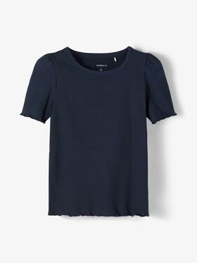 Geripptes T-Shirt