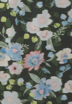 Mesh-Rock mit Blumen