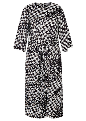 Ladies maxi wrap dress