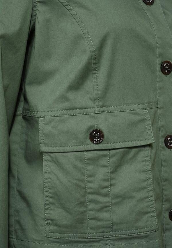 Kurze Military-Jacke