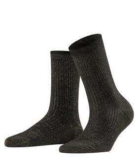 Socken Shiny Rib