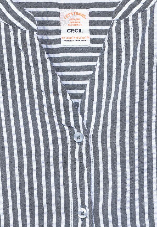 Bluse in Seersucker