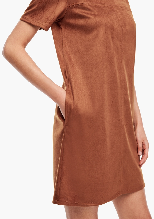 Velours-Kleid
