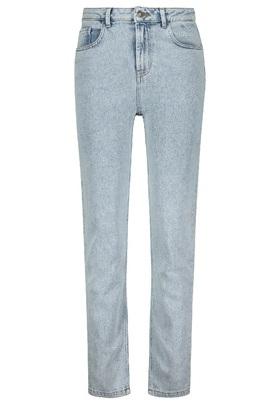 "Jeans ""Straight"" in hellblauer Waschung"
