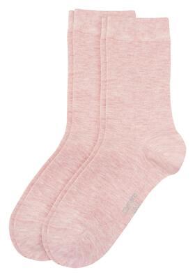Women Basic silky feeling Socks 2p