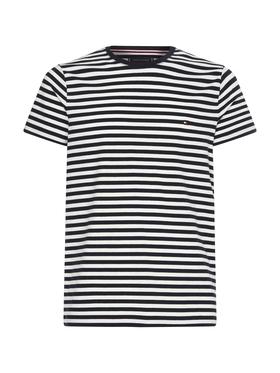 Slim Fit Stretch-T-Shirt aus Bio-Baumwolle