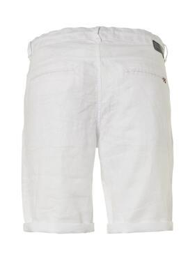 Linen Herringbone Shorts