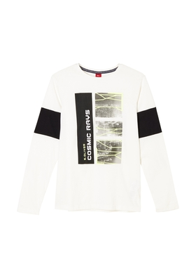 Langarmshirt mit Print