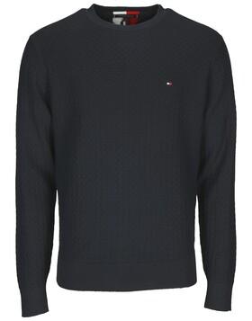 Pullover mit strukturierter Webung