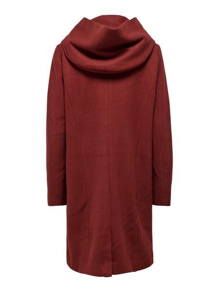 Langer Woll Mantel