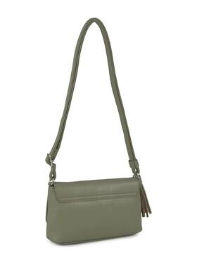 AMALIA Flap bag, sage