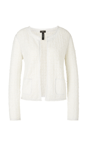 Jacke mit Silberglanz Knitted in Germany