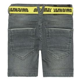 Jeans-Bermudas mit Gürtel