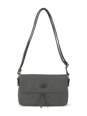 CLARA Flap bag, dark grey