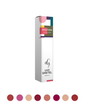 KNUTZEN - Lip Gloss - 4 Matte Sunrise Red